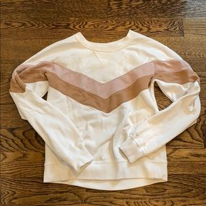 Abercrombie soft A&F fleece sweater size xs